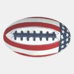 All-American Football Sticker
