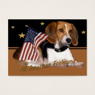 All American Foxhound Apparel & Gifts Business Card