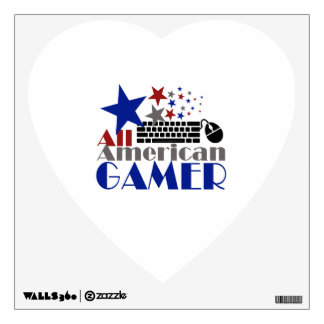 All American Gamer Wall Decal