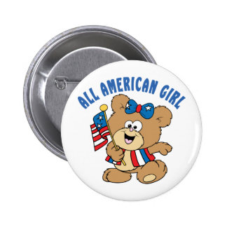 All American Girl Bear Pin