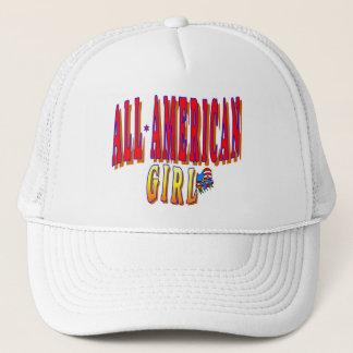 ALL AMERICAN GIRL CAP HAT