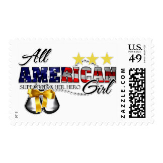 All American Girl Postage