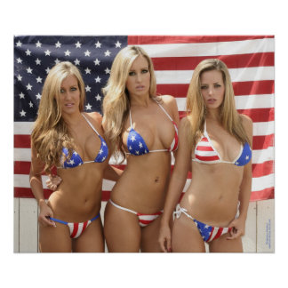 ALL AMERICAN GIRLS 24x20 Poster