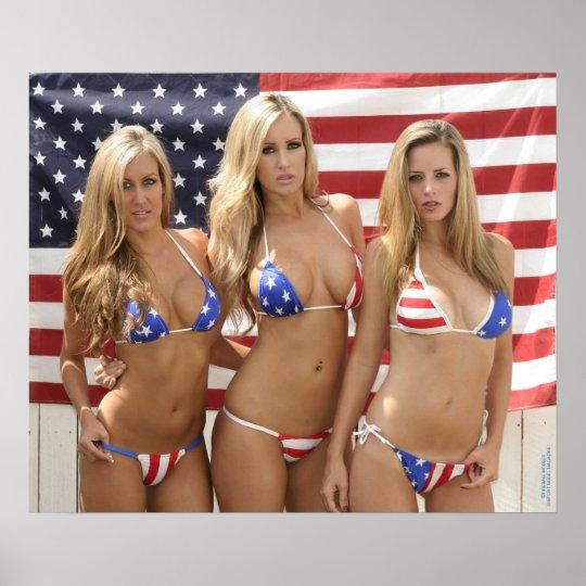 All American Girls 24x20 Poster Zazzle Com