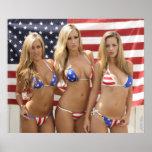 ALL AMERICAN GIRLS 24×20 Print