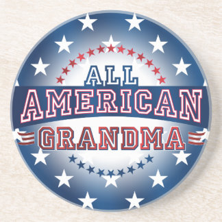 All-American Grandma Coaster