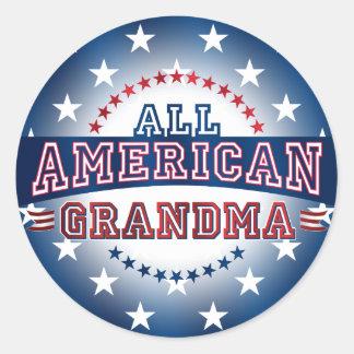 All-American Grandma Sticker