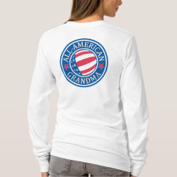 All-American Grandma Women's Basic Long Sleeve T-Shirt