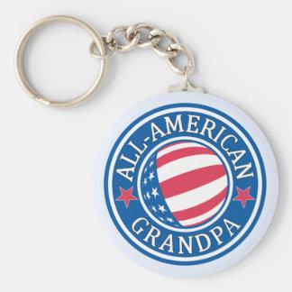 All-American Grandpa Keychain