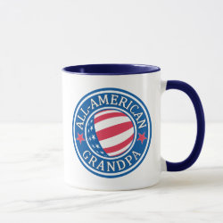 Combo Mug with All-American Grandpa design