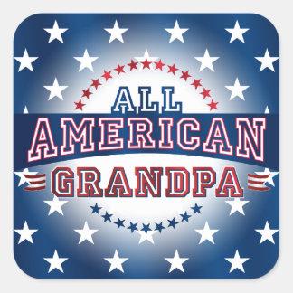 All-American Grandpa Sticker