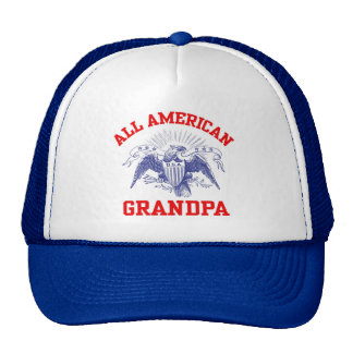 All American Grandpa Trucker Hat