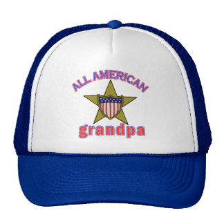 All American Grandpa Tshirts and Gifts Trucker Hat