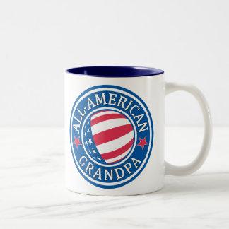 All-American Grandpa Two-Tone Coffee Mug