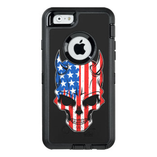All-American Hellion Skull OtterBox Defender iPhone Case