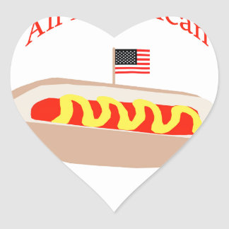 All American Hot Dog Stickers