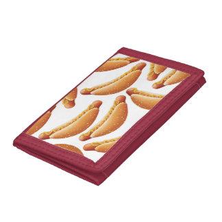 All American Hot Dog. Tri-fold Wallet