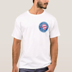 Men's Basic T-Shirt with All-American Husband design