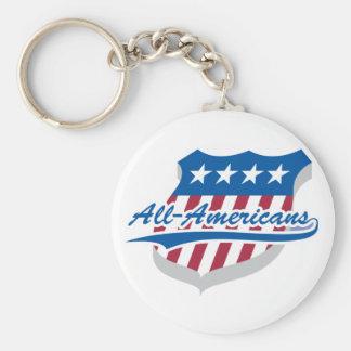 All American Keychain