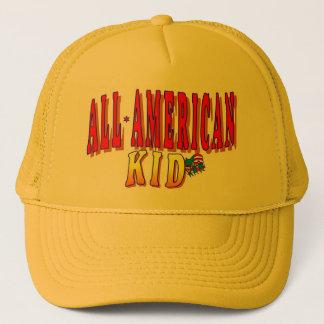 ALL AMERICAN KID TRUCKER HAT