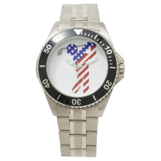 All American Male Golfer Wristwatches