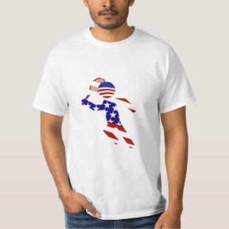 All-American Mens Tennis Player T-shirt