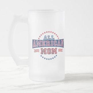 All-American Mom Glass Mug