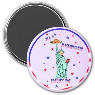 All American MOM Magnet