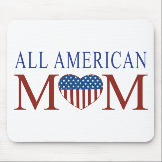 All American Mom Mouse Pad
