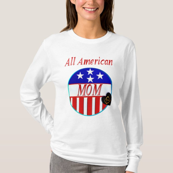 All American MOM shirts