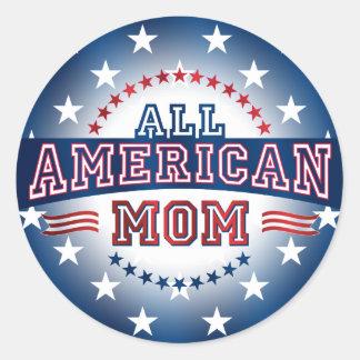 All-American Mom Sticker