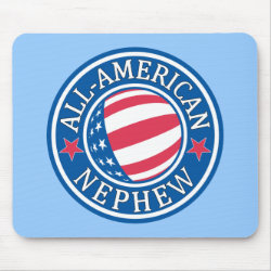 Mousepad with All-American Nephew design