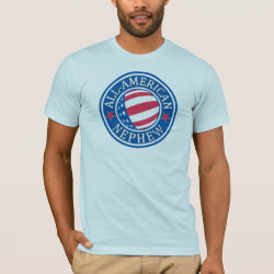 All-American Nephew Men's Basic American Apparel T-Shirt