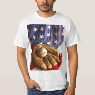 All American Past Time Baseball T-shirt