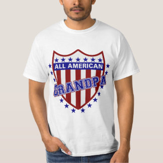 All American Patriotic Grandpa T-Shirt