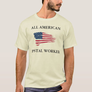 All American Postal Worker T-Shirt