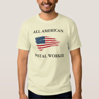All American Postal Worker Tee Shirt