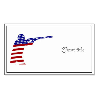 All-American Rifleman/Shooting Contender Business Card