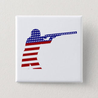 All-American Rifleman/Shooting Contender Pinback Button