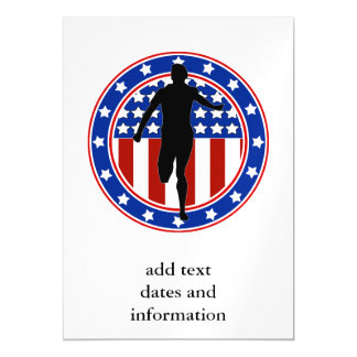 All-American Runner Magnetic Card