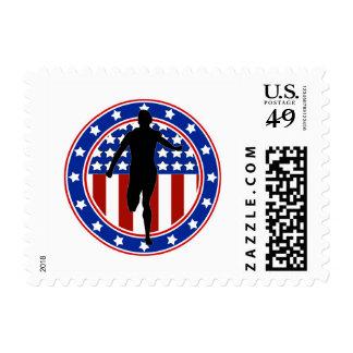 All-American Runner Stamp