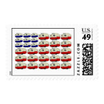 All American Shasta Trailer Postage Stamps