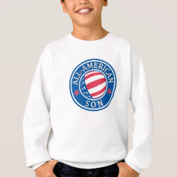 Kids' American Apparel Organic T-Shirt with All-American Son design