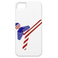 All-American TaeKwondo Kick (1) iPhone 5 Covers