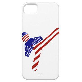 All-American TaeKwondo Kick (1) iPhone SE/5/5s Case