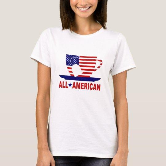All American Tea Party Patriotic TShirt