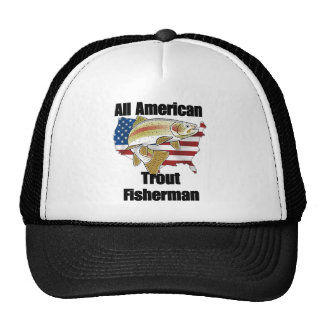 All American Trout Fisherman Trucker Hat