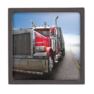 All American Trucker Jewelry Box