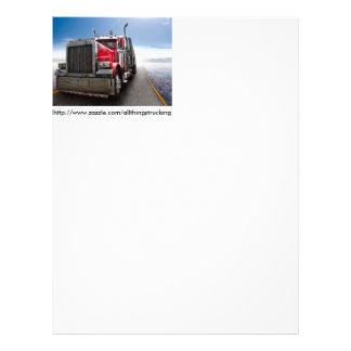 All American Trucker Letterhead