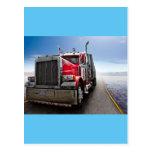 All American Trucker Postcard